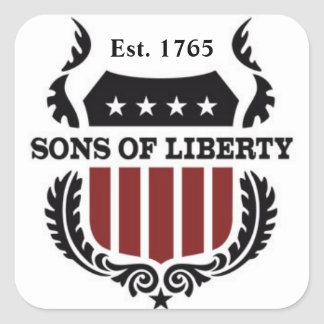 Sons of Liberty Sticker - Sheet of 6