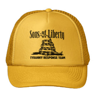 Sons of Liberty TYRANNY RESPONSE TEAM hat