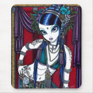 Sonya Tribal Fusion Belly Dancer Mousepad