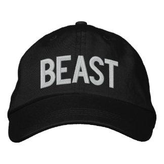 Sooled Beast Embroidered Hat