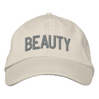 Sooled Beauty Embroidered Hat