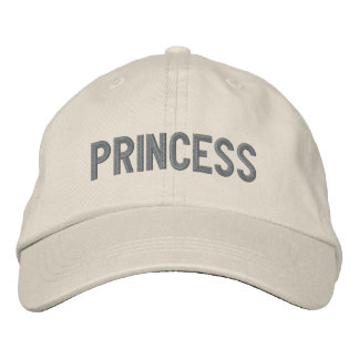 Sooled Princess Embroidered Hat