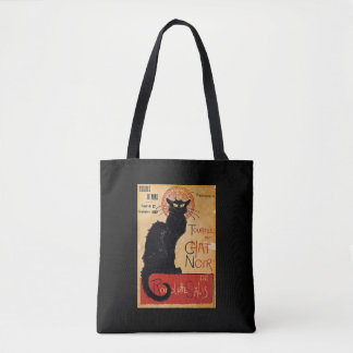 """""""Soon and the Black Cat Tour by Rodolphe Salis"""" Tote Bag"""