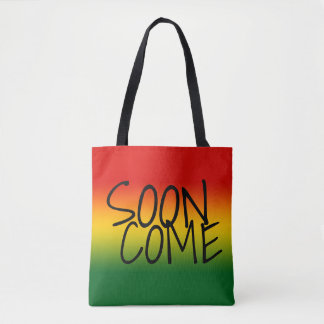 SOON COME - Jamaican Style Tote Bag