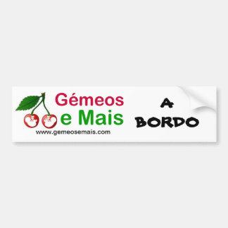 Soon of the Portal, On board, www.gemeosemais.com Bumper Sticker