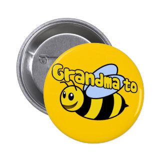 Soon to be Grandma 6 Cm Round Badge