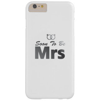 Soon To Be Mrs Bachelor Party Bride Team wedding Barely There iPhone 6 Plus Case