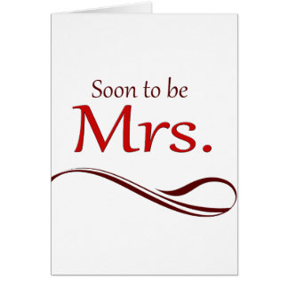 Soon to be Mrs. Card
