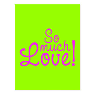 SOOOO MUCH LOVE QUOTES SAYINGS EXPRESSIONS FEELING POST CARD