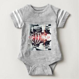 SOOSO VISIONZ CHESS DESIGN BABY BODYSUIT