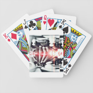 SOOSO VISIONZ CHESS DESIGN BICYCLE PLAYING CARDS