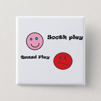 sooth pley quaad pley 15 cm square badge
