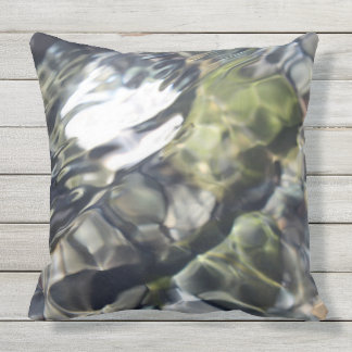 Soothing Water Outdoor Cushion