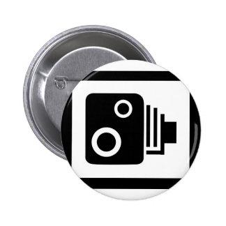 Sopeed Camera 6 Cm Round Badge