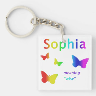 Sophia Gifts Personalized Name Key Ring