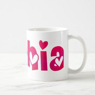 Sophia in Hearts Coffee Mug