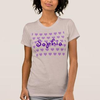 Sophia in Purple T-Shirt