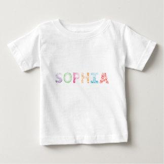 Sophia Letter Name Baby T-Shirt