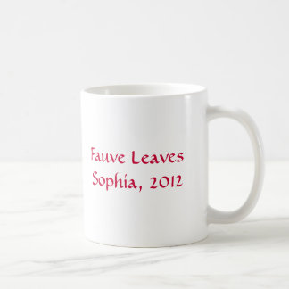 sophia moran coffee mug