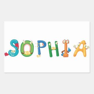 Sophia Sticker