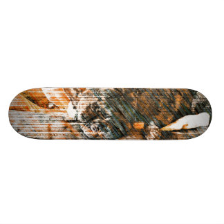 Sophie and Penny the french bulldogs Skateboard Deck