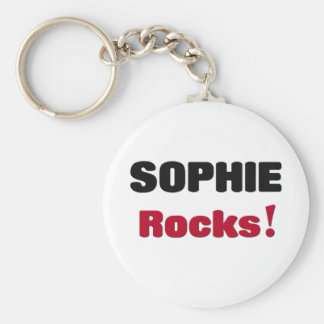 Sophie Rocks Key Ring