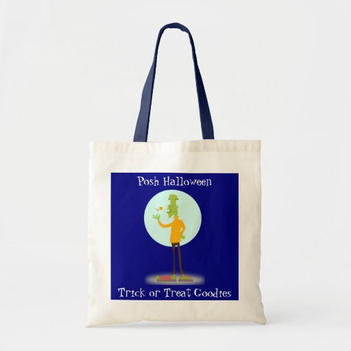 Sophistcated Ghoul And Martini Canvas Bags