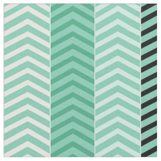 Sophisticated Brown Variegated Chevron Stripes Fabric