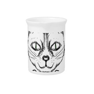 Sophisticated Cat Pitcher