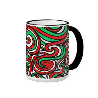 Sophisticated Creative Retro Perfect Ringer Mug