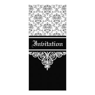 Sophisticated Damask Personalized Announcement
