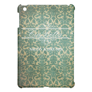 Sophisticated Damask Salon Flourish Banner Case Case For The iPad Mini