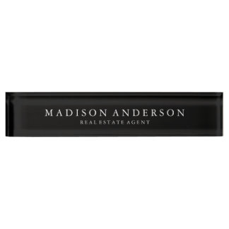 Sophisticated | Desk Name Plate