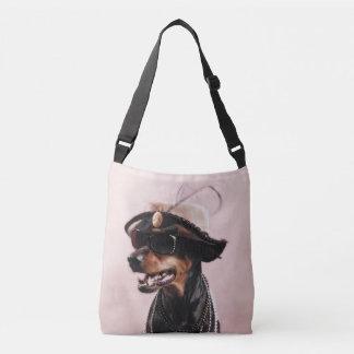 Sophisticated Doberman Tote Bag