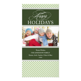SOPHISTICATED DOTS | HOLIDAY PHOTO CARD