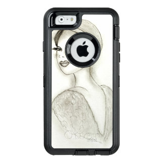 Sophisticated Flapper OtterBox Defender iPhone Case