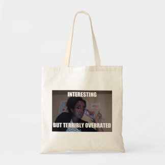 Sophisticated Intellectual Tote Budget Tote Bag