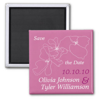Sophisticated Save the Date Magnets