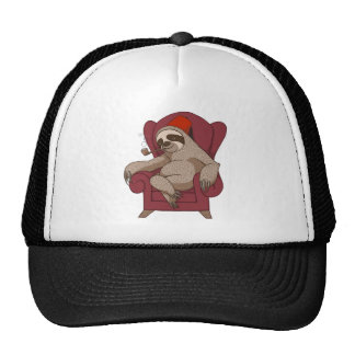 Sophisticated Three Toed Sloth Cap