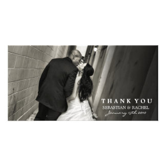 SOPHISTICATED TWO IN BLACK AND WHITE CARD