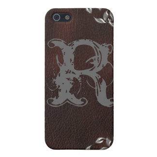 Sophisticated Western Leather Wedding iPhone 5 Covers