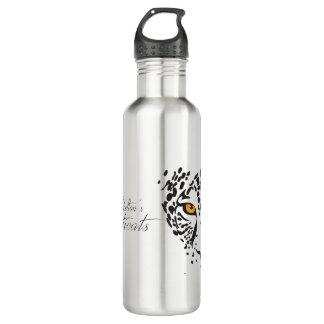 """Sophisticats """"Leopard"""" water bottle"""