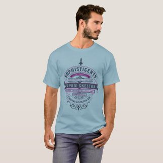 "SophistiGENTS ""Ribbons (Dark) Design"" for Men T-Shirt"