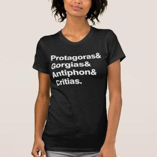 Sophists ladies dark t-shirt