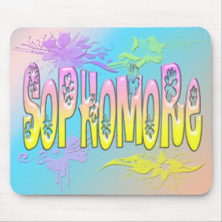 Sophomore - Flowers Mouse Pad