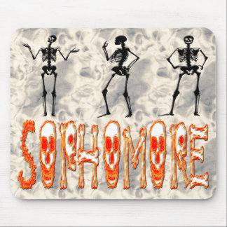 Sophomore - Skeletons Mouse Pad