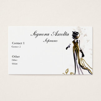 Soprano business card