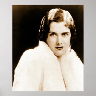 Soprano Carol Deis 1926 Print