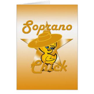 Soprano Chick #10 Card