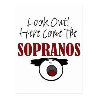 Soprano Postcard